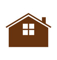 simple guest house vector image