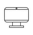 monitor display device technology hardware vector image