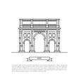 building of Rome vector image