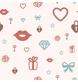 Pattern icon love vector image