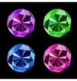 Abstract Luxury Diamond Set vector image