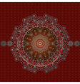 arabesque frame2 vector image