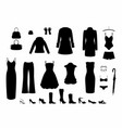 shadow women s clothing vector image