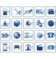 Internet icons vector image