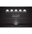 light showroom vector image vector image