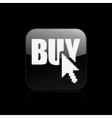 buy button icon vector image vector image