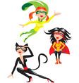 Super hero Girls vector image