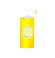 liquid soap vector image