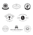 Retro Logotypes set vector image