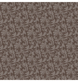 brown seamless wallpaper pattern vector image vector image
