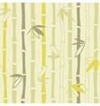 Bamboo ornament seamless pattern vector image