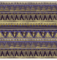 Seamless Ethnic Geometric Knitted Pattern Violet vector image