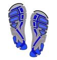 Clean Sport Shoe Imprints vector image