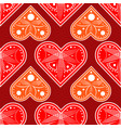 heart love valentine card love hearts vector image