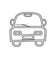 image of a car symbol vector image