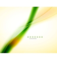Blurred flowing business wave vector image vector image