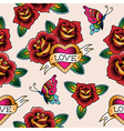 tattoo love pattern vector image