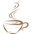 cup of coffee- vector image