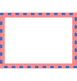 United States flag frame vector image