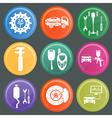 Icon car service 7 vector image