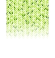 Green shiny geometric hi-tech background vector image vector image