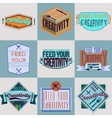 Motivational typography design Retro and vintage vector image