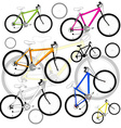 Bicycle Background vector image