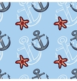Sea Seamless Pattern Color vector image