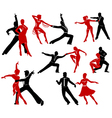 Ballroom dancing - 5 vector image vector image