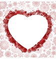 Frame in the shape of heart EPS 8 vector image vector image