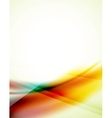 Unusual blur wave abstract background vector image vector image