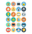 Office Flat Icons 5 vector image