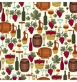 Seamless pattern for wine wineries and restaurants vector image