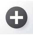 add icon symbol premium quality isolated plus vector image