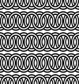 seamless circle Chain pattern background vector image