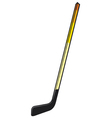 hockey stick vector image