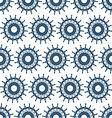 marine steering wheel seamless pattern vector image