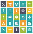 icons plain tablet industrial vector image