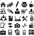Icons for web and mobile vector image