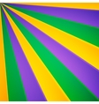 Green yellow and violet rays carnival vector image vector image