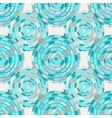 seamless pattern of circles kaleidoscope vector image