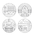 City architecture vector image
