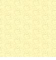 floral pattern on a beige background vector image vector image