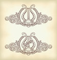 ancient lyre vector image vector image