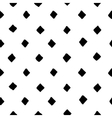 Black and white diamond shape hand drawn simple vector image vector image