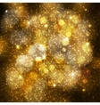 Abstract festive blurred background with sparkling vector image