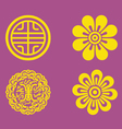 motifs korea vector image