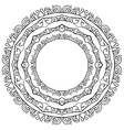 set of round frames on a white background vector image