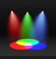 rgb spectrum red green blue color mixing design