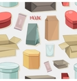 Packing collection pattern vector image